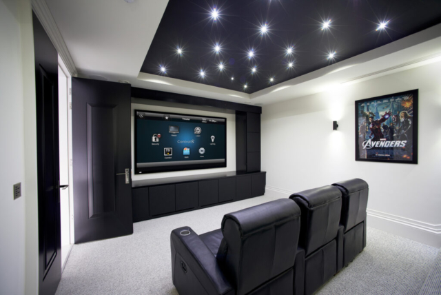 Bespoke Home Cinema Installers in Leeds